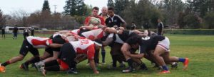 Chico Men's Rugby Scrum down 2017