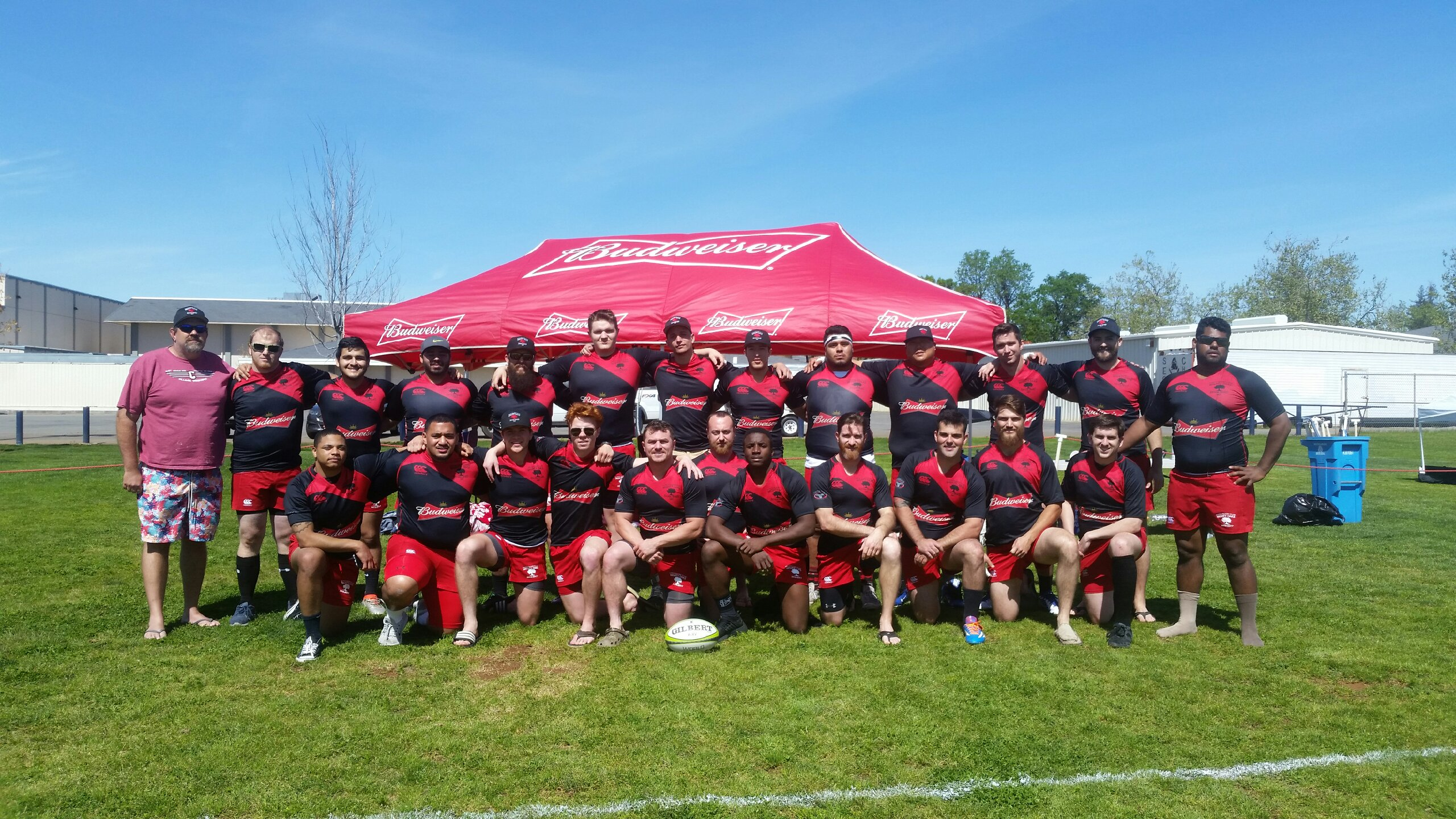 Chico Men's Rugby team photo 2017